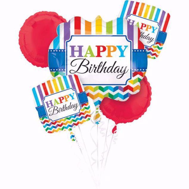 Bild von Bouquet Set Folienballon Geburtstag