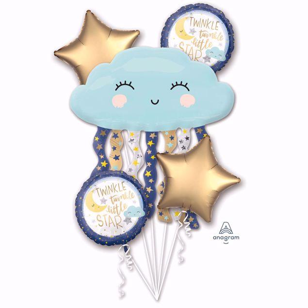 """Picture of Folienballon Bouquet Set """"Twinkle twinkle little star"""""""