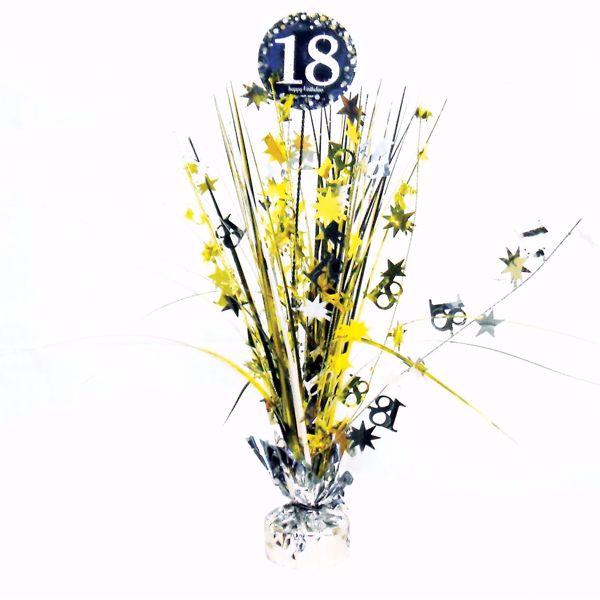 Picture of Tischdekoration 18 Sparkling Celebration - Silver & Gold