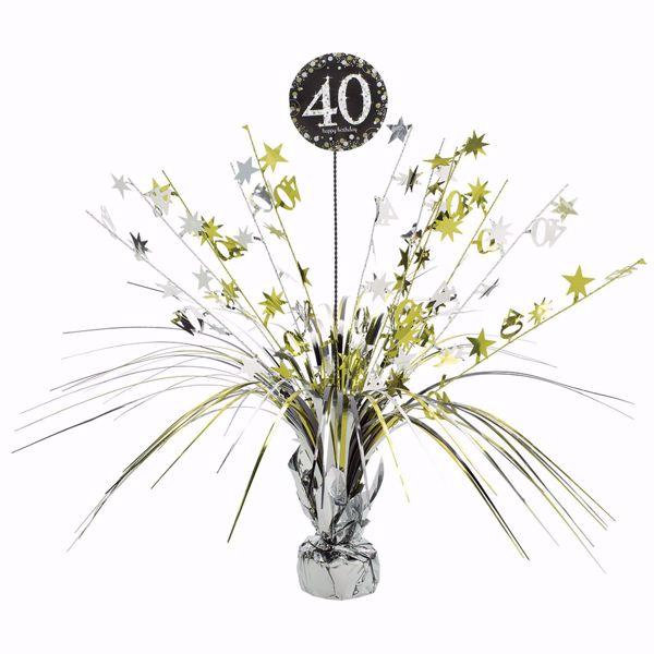 Picture of Tischdekoration 40 Sparkling Celebration - Silver & Gold