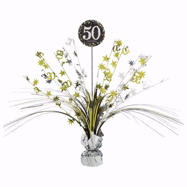 Picture of Tischdekoration 50 Sparkling Celebration - Silver & Gold