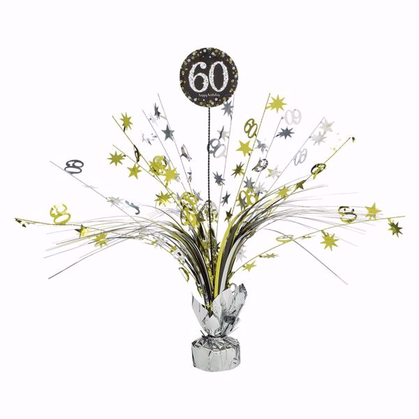 Picture of Tischdekoration 60 Sparkling Celebration - Silver & Gold