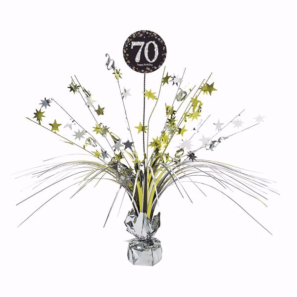 Picture of Tischdekoration 70 Sparkling Celebration - Silver & Gold