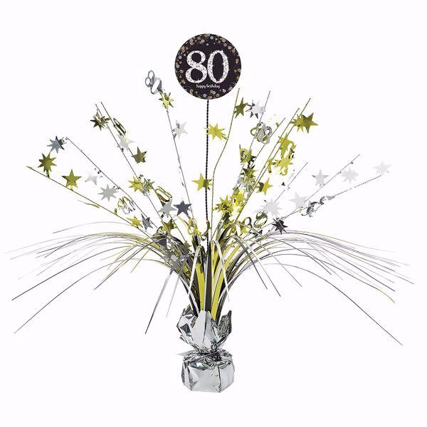 Picture of Tischdekoration 80 Sparkling Celebration - Silver & Gold