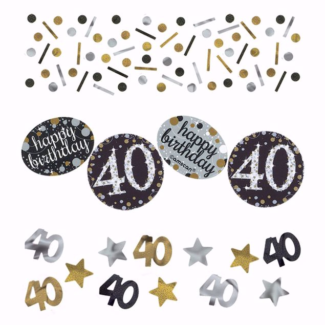 Picture of Konfetti 40 Sparkling Celebration - Silver & Gold 34 g