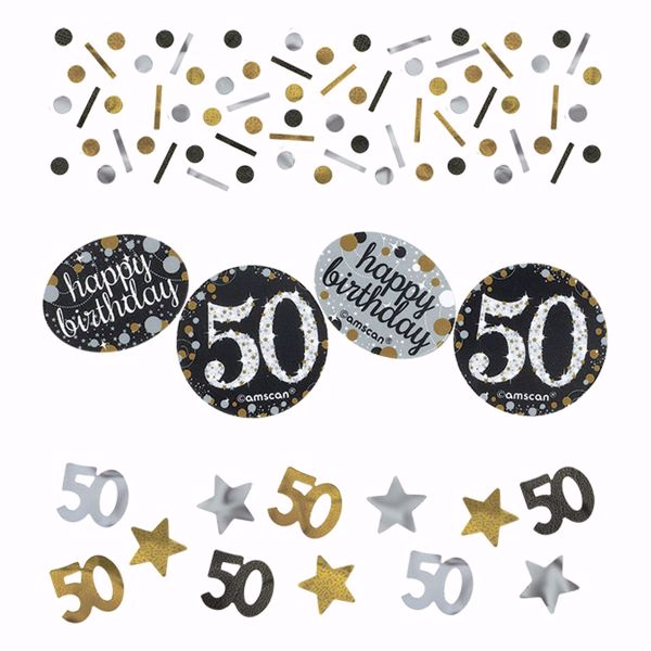 Picture of Konfetti 50 Sparkling Celebration - Silver & Gold 34 g