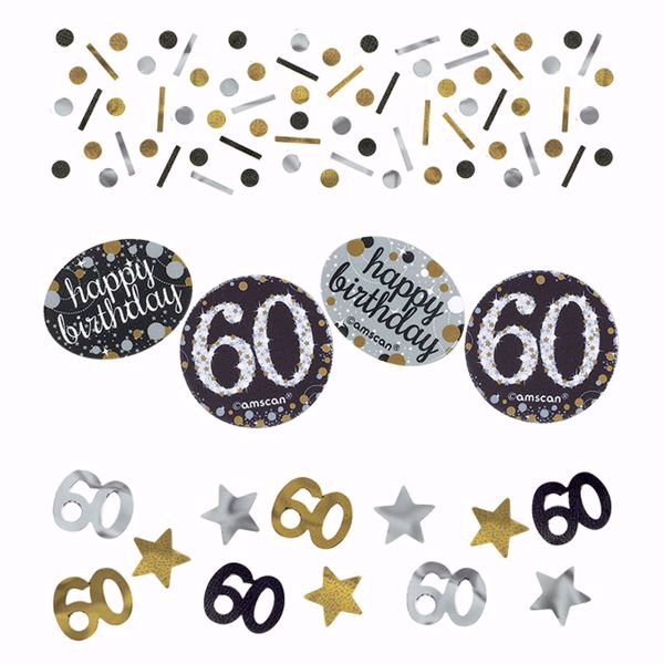 Picture of Konfetti 60 Sparkling Celebration - Silver & Gold 34 g