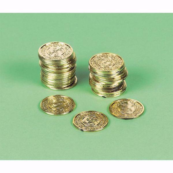 Bild von Piratenschatz-Münzen Pirates Treasure