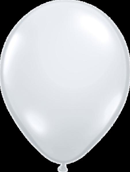 "Picture of Latexballon Rund Qualatex Kristall Diamond (Transparent) 27,5 cm/11"""
