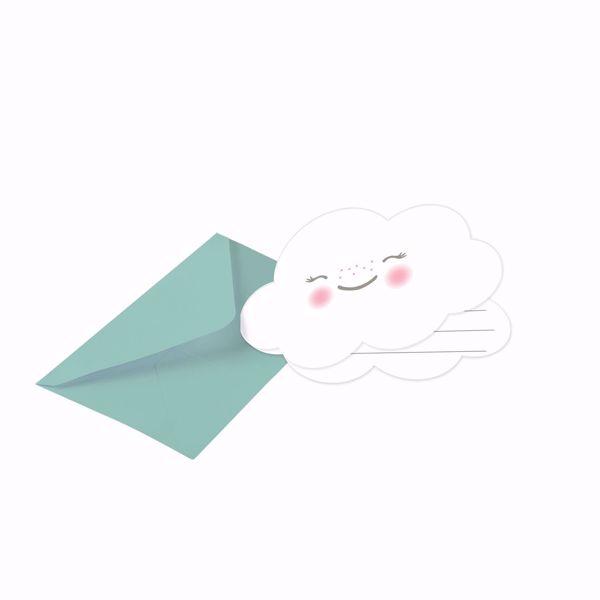 Picture of Einladungskarten Rainbow & Cloud