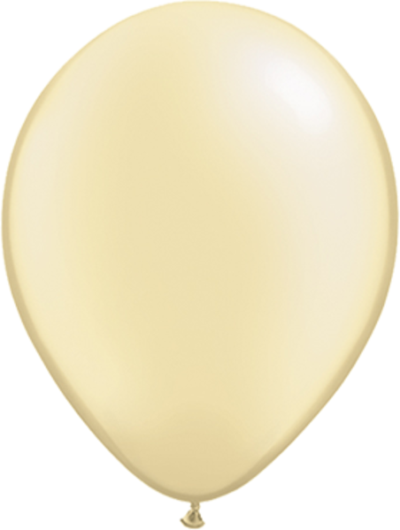 Picture of Latexballon Rund Qualatex Pearl Elfenbein 27,5 cm/11""