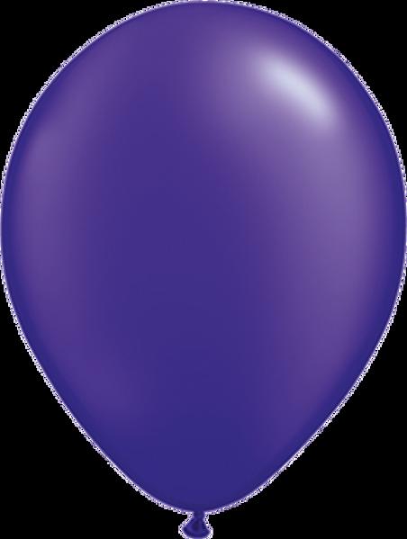 """Picture of Latexballon Rund Qualatex Pearl Lila 27,5 cm/11"""""""