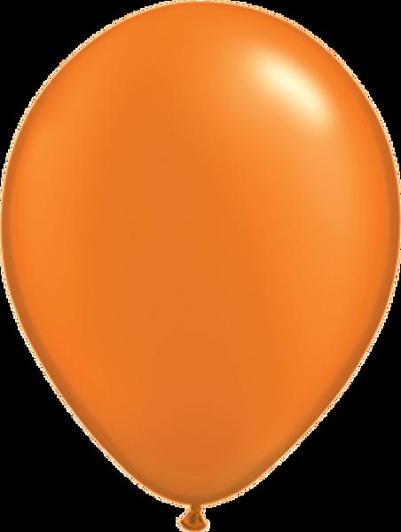 """Picture of Latexballon Rund Qualatex Pearl Orange 27,5 cm/11"""""""