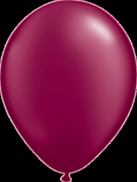 "Picture of Latexballon Rund Qualatex Pearl Burgundy 27,5 cm/11"""