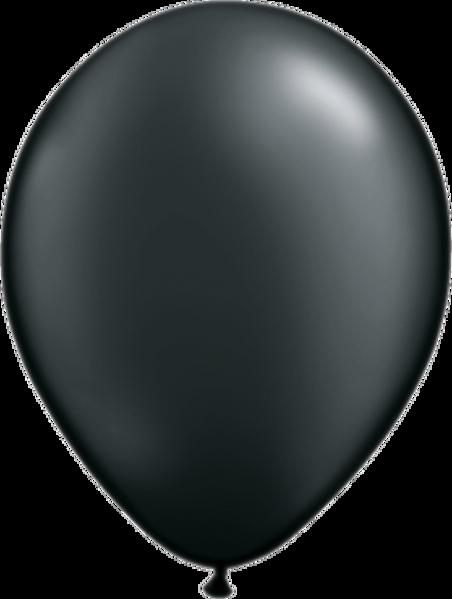 """Bild von Latexballon Rund Qualatex Pearl Schwarz 27,5 cm/11"""""""