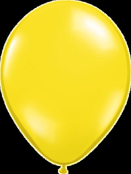 """Bild von Latexballon Rund Qualatex Pearl Gelb 27,5 cm/11"""""""