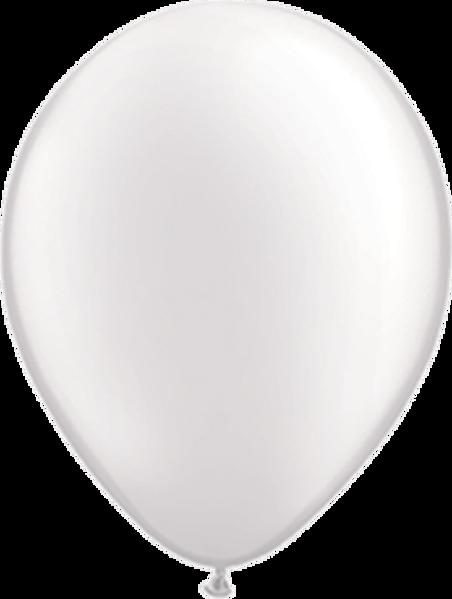 "Picture of Latexballon Rund Qualatex Pearl Weiß 27,5 cm/11"""