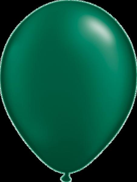 "Picture of Latexballon Rund Qualatex Pearl Dunkelgrün 27,5 cm/11"""