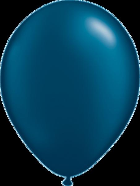 "Picture of Latexballon Rund Qualatex Pearl Midnight Blue 27,5 cm/11"""