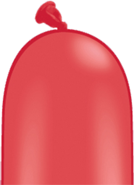 Bild von Latexballon Modellierballon Qualatex 260Q Standard Rot