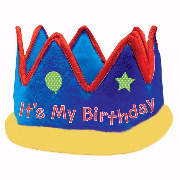 Picture of Krone It's My Birthday Gewebe 13,9 cm