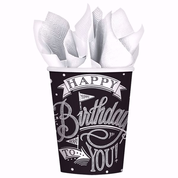Picture of MULTIPACK 18 Becher Hooray It's Your Birthday Papier 266 ml