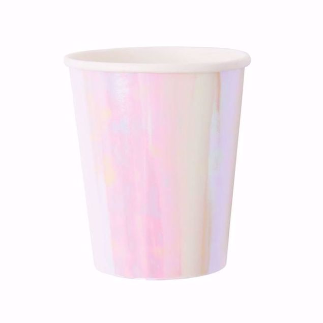 Picture of Iridescent Partybecher Schimmernd 260 ml