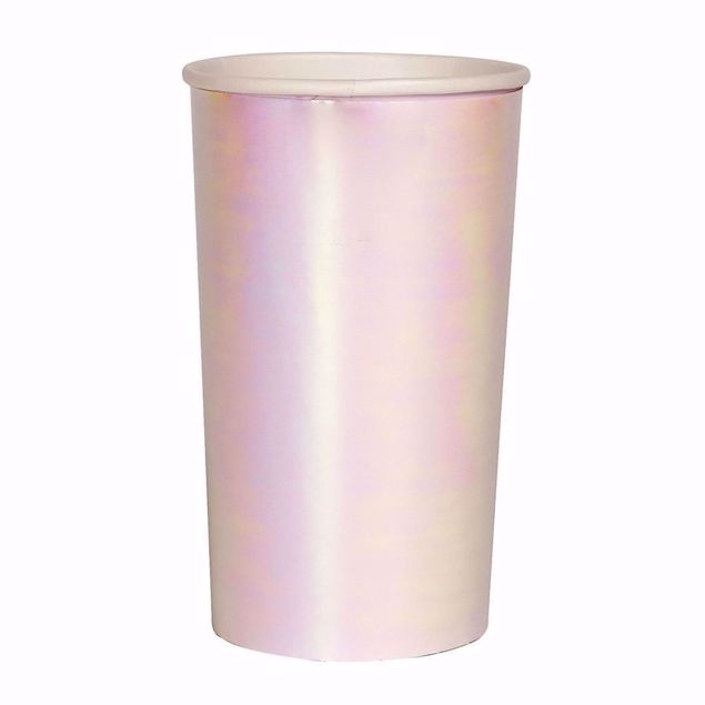 Picture of Iridescent Partybecher Schimmernd 400 ml