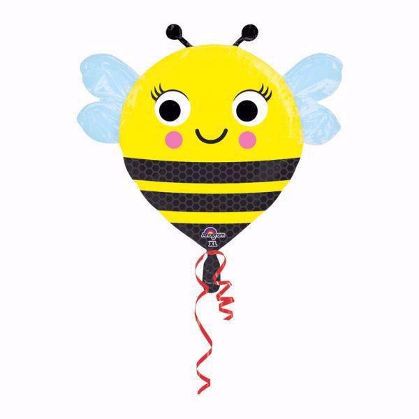 Bild von Folienballon Happy Bee