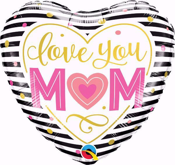 Picture of Folienballon 'Love You Mom'