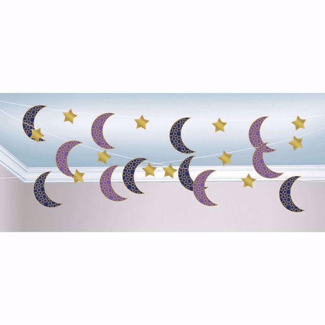 Bild von Girlande Eid Ramadan Mond Sterne