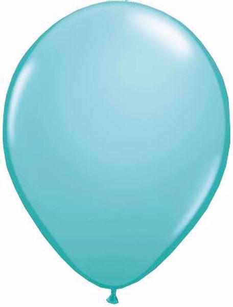 Picture of Latexballon rund Qualatex Fashion Caribbean blau11 inch
