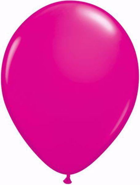 Picture of Latexballon rund Fashion Wild Berry Qualatex 11 inch
