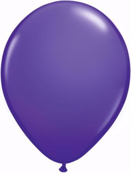 Picture of Latexballon rund Fashion Lila Violet Qualatex 11 inch