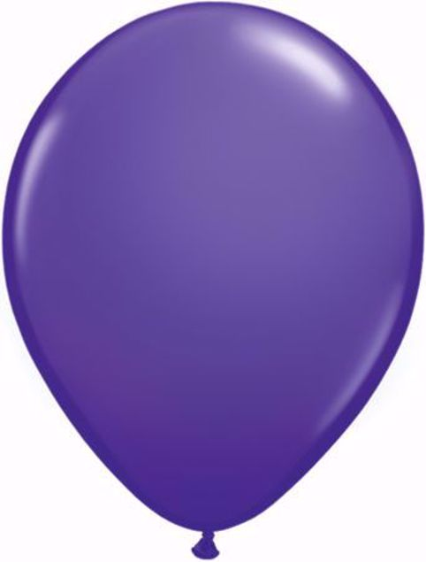Picture of Latexballon rund Fashion Lila Violet Qualatex 11 inch