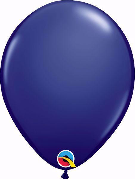 Picture of Latexballon rund Fashion Dunkelblau Qualatex 11 inch