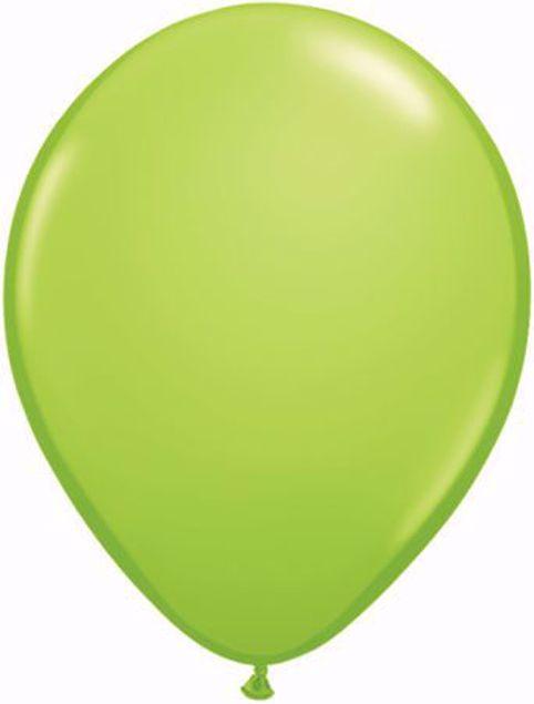 Bild von Latexballon rund Fashion Lime Grün Qualatex 11 inch
