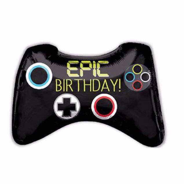 Bild von Folienballon Epic Birthday Controller