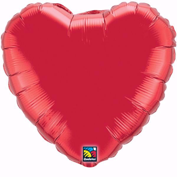 Picture of Folienballon Herz Rot