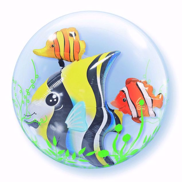 "Bild von 24"" DOUBLE BUBBLE SEAWEED TROPICAL FISH"