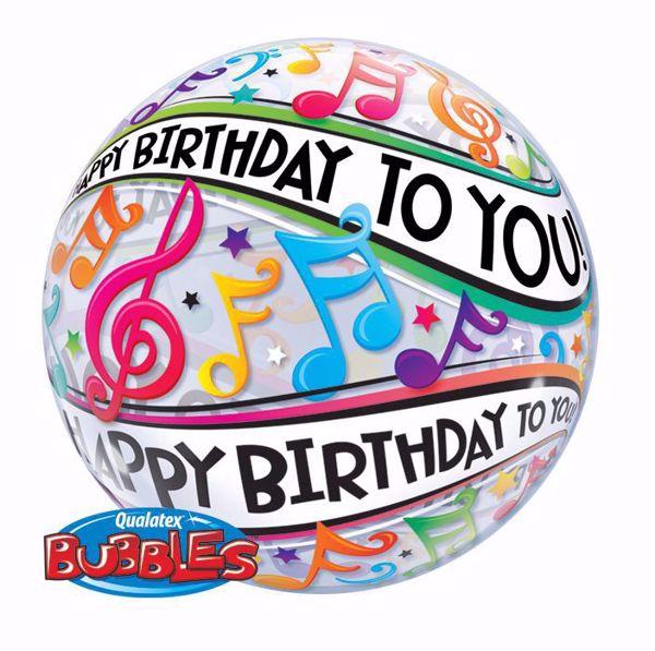 Bild von SINGLE BUBBLE Happy Birthday Musik