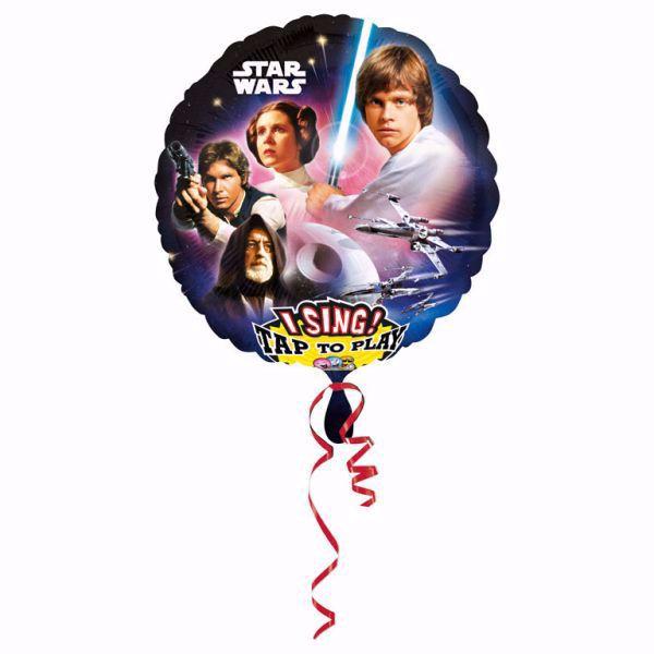 Bild von Folienballon Sing-A-Tune Star Wars