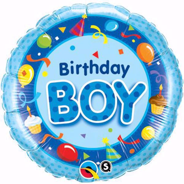 Bild von Folienballon Birthday Boy