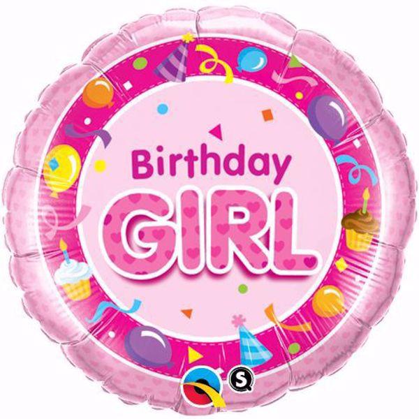 Picture of Folienballon Birthday Girl