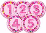 Picture of Folienballon Alter 3 rosa
