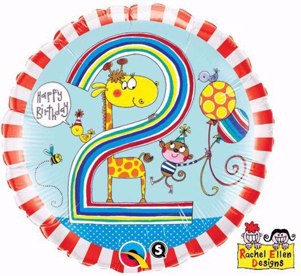 Picture of Folienballon Alter 2 Giraffe