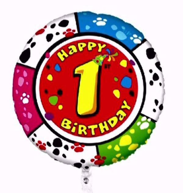 "Picture of Folienballon Animaloons ""1"""
