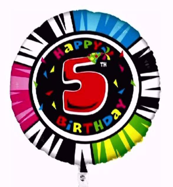 "Picture of Folienballon Animaloons ""5"""