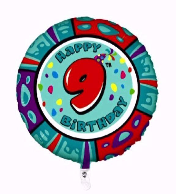 """Bild von Folienballon Animaloons """"9"""""""
