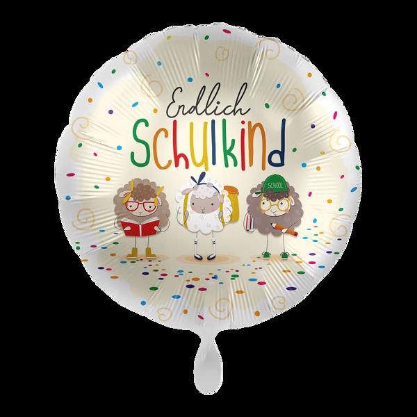 """Picture of Folienballon """"Endlich Schulkind"""" Schafe"""